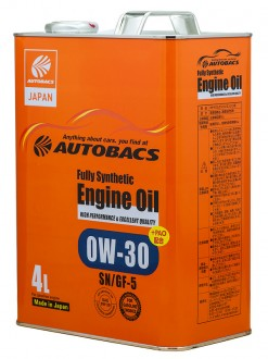 Масло AUTOBACS ENGINE OIL FS 0w30