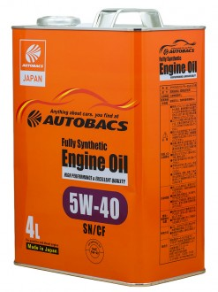 Масло AUTOBACS ENGINE OIL FS 5w40